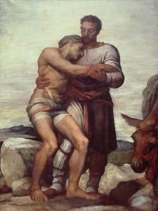 The Good Samaritan, 1852 by George Frederick Watts