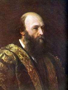 The Marquess of Salisbury, British Prime Minister, C1885-1903 by George Frederick Watts