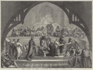 The School of Legislation by George Frederick Watts
