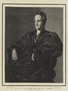 The Very Reverend Arthur Penrhyn Stanley, Dean of Westminster by George Frederick Watts
