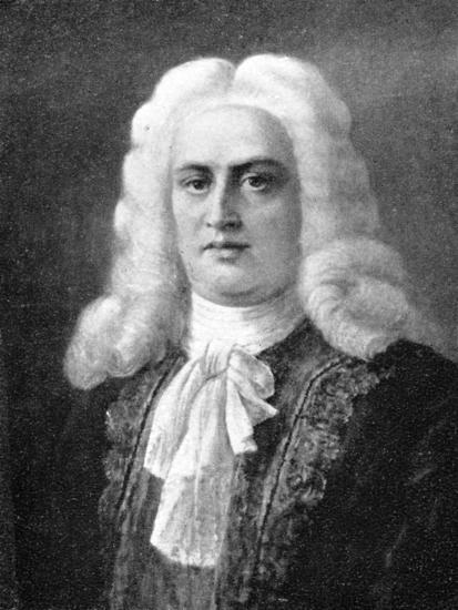 George Frideric Handel, (1685-1759), German Baroque composer, 1909. Artist: Unknown-Unknown-Giclee Print
