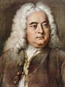 George Frideric Handel, 1685-1759 German composer