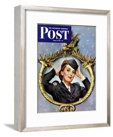 """Red Cross Volunteer,"" Saturday Evening Post Cover, March 13, 1943"