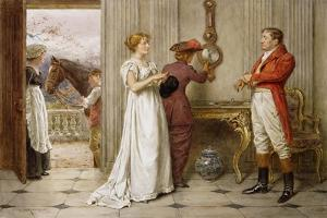 A Southerly Wind and a Cloudy Sky by George Goodwin Kilburne