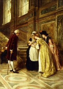 Admiring the Baby by George Goodwin Kilburne
