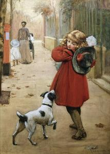 Is That for Me? by George Goodwin Kilburne
