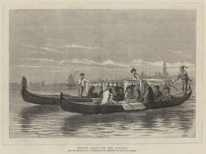 Picnic Party on the Lagoon by George Goodwin Kilburne