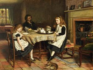 There Is No Fireside, 1874 by George Goodwin Kilburne