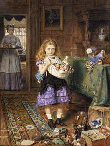 Time for Tea by George Goodwin Kilburne