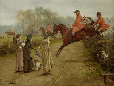 Watching the Hunt, 1895