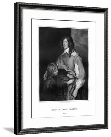 George Goring, Lord Goring, English Royalist Soldier-J Thomson-Framed Giclee Print