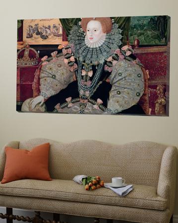 Elizabeth I, Armada Portrait, circa 1588