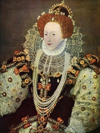 Elizabeth I, Queen of England and Ireland, C1588, (C1902-190)