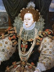 Elizabeth I, Queen of England and Ireland, C1588 by George Gower