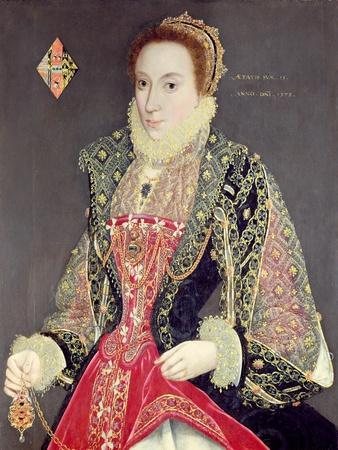 Mary Denton, Nee Martyn, Aged 15 in 1573
