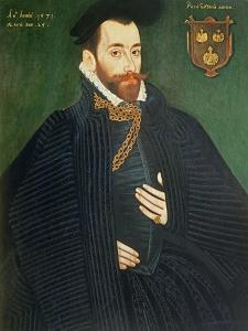 Portrait of a Gentleman, Traditionally Called a Member of the Dacre Family, 1571 by George Gower
