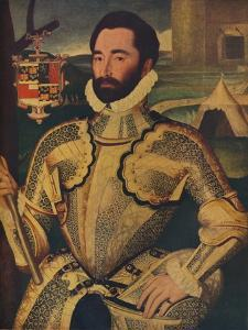 'Sir Charles Somerset', c1566 by George Gower