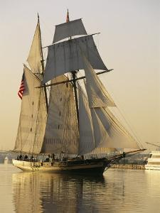 The Pride of Baltimore Clipper Ship by George Grall