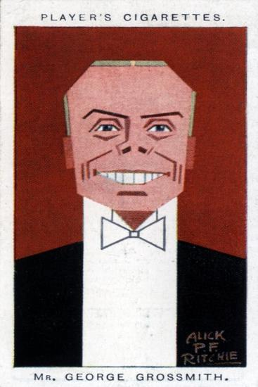 George Grossmith Junior, British Actor, Manager and Playwright, 1926-Alick PF Ritchie-Giclee Print