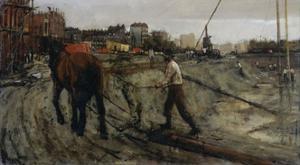 Building Site, C. 1900 by George Hendrik Breitner