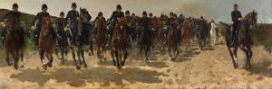 Cavalry, 1883-1888 by George Hendrik Breitner