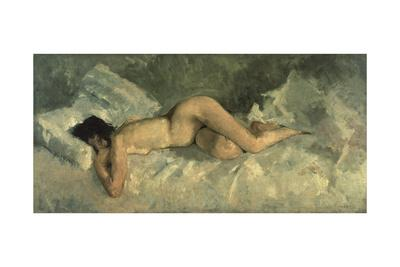 Reclining Nude, Ca 1887