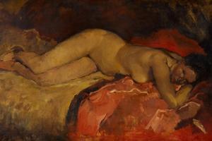 Reclining Nude, Ca 1887 by George Hendrik Breitner