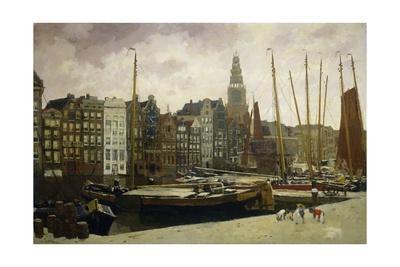 The Damrak, Amsterdam, 1903