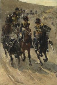 The Yellow Riders, 1885-86 by George Hendrik Breitner