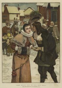 New Year's Day in Old New York by George Henry Boughton
