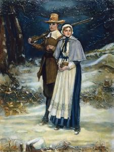 Puritans Going to Church by George Henry Boughton