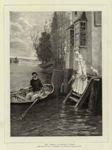 The Ferry, A Dainty Fare by George Henry Boughton