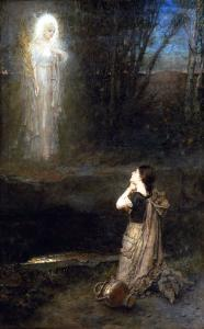 The Vision at the Martyr's Well by George Henry Boughton