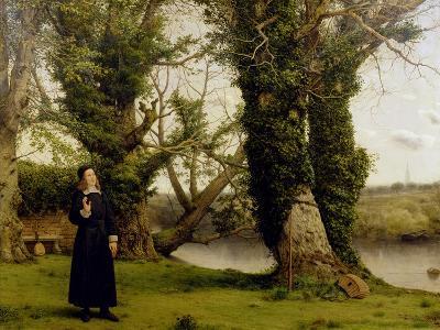 George Herbert (1593-1633) at Bemerton, 1860-William Dyce-Giclee Print