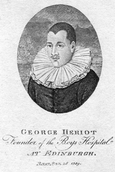 George Heriot (1563-162), Scottish Goldsmith and Philanthropist, 1791--Giclee Print
