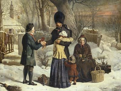 The Soldier's Farewell, the Parent's Gift [Leaving for the Crimea]