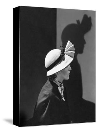 Vogue - December 1934 - Model in a Hat by J. Suzanne Talbot