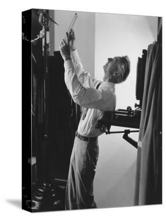 Vogue - June 1941 - Edward Steichen at Work