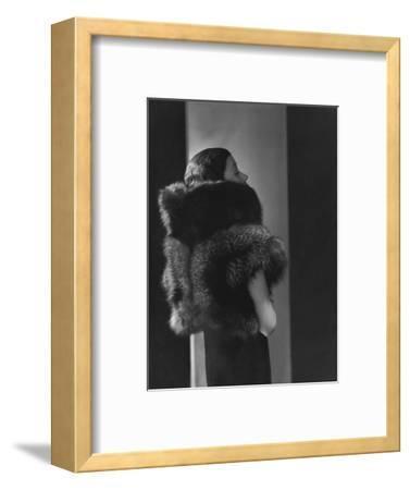 Vogue - October 1933 - Toto Koopman in Fur