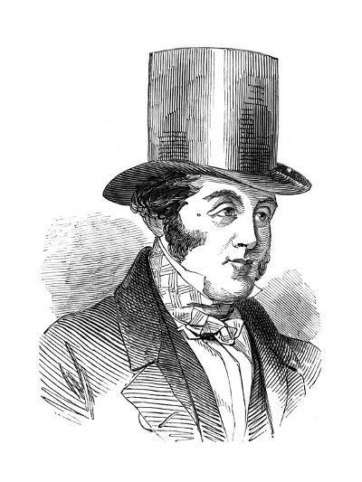 George Hudson, the Railway King, 1848--Giclee Print