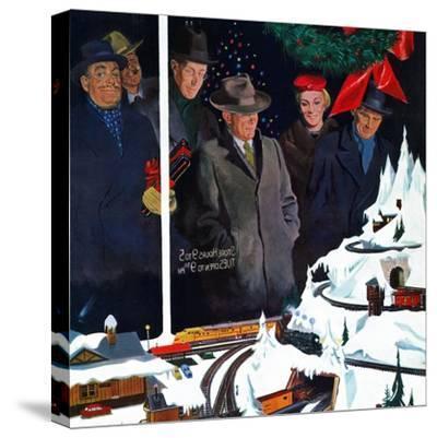"""Christmas Train Set"", December 15, 1956"