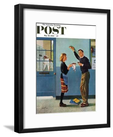 """""""Cookie Tester,"""" Saturday Evening Post Cover, May 28, 1960"""