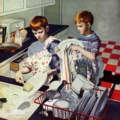 """""""Dinner Dishes"""", September 26, 1953"""