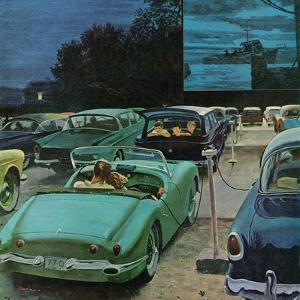 """Drive-In Movies,"" August 19, 1961 by George Hughes"