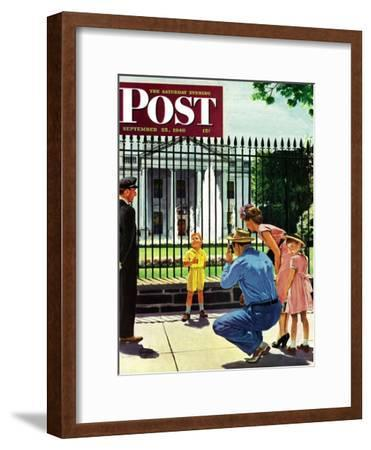 """Future President,"" Saturday Evening Post Cover, September 25, 1948"