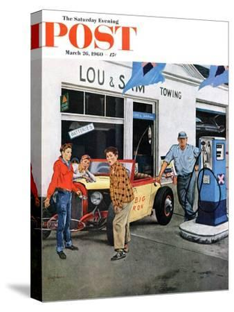 """""""Gas Money,"""" Saturday Evening Post Cover, March 26, 1960"""