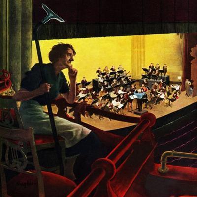 """""""Orchestra Rehearsal"""", January 13, 1951"""