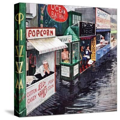 """""""Rain on the Boardwalk"""", July 2, 1955"""
