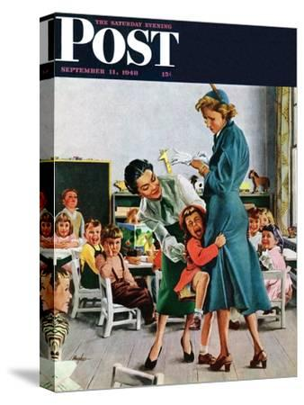 """""""Separation Anxiety,"""" Saturday Evening Post Cover, September 11, 1948"""
