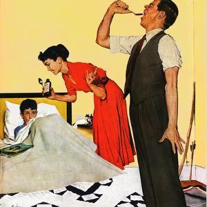 """""""Take Your Medicine"""", September 23, 1950 by George Hughes"""